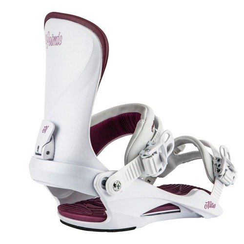 Women snowboard bindings NITRO Cosmic Pearl 2020 | Space Aged Fit & Comfort