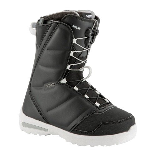 Women snowboard boots NITRO Flora TLS 2019 black | The Mountain Is Your Playground