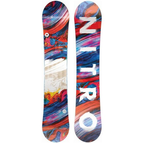 Women snowboardow NITRO Lectra FLAT 2020 | Enjoy The Ride