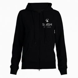 Bluza z kapturem SLASH Snowboards by GIGI Basic Zip Hoodie black