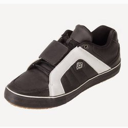 Buty grawitacyjne rowerowe DZR x T.H.E.Hermes Clipless Shoes SPD BMX ENDURO DH black & white