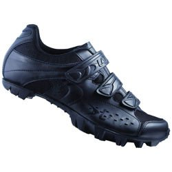 Buty rowerowe LAKE MX160-X MTB Action LEATHER (SKÓRA!) black / black