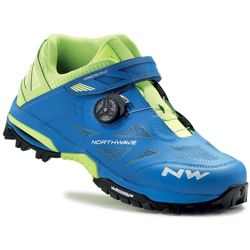 4f69f6b3 Buty rowerowe NORTHWAVE Enduro Mid MICHELIN MTB ENDURO blue / yellow fluo