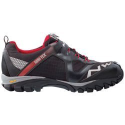 Buty rowerowe NORTHWAVE Explorer GTX CROSS-BOW GORE-TEX MTB ENDURO black / red