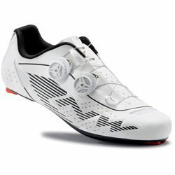 Buty rowerowe szosowe NORTHWAVE Evolution Plus CARBON reflective white | WIDE