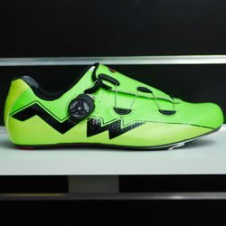 Buty rowerowe szosowe NORTHWAVE Extreme AERO full CARBON green fluo / yellow fluo