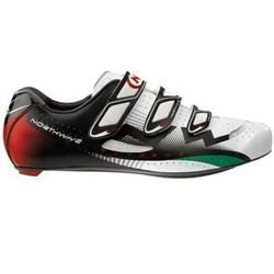 Buty rowerowe szosowe NORTHWAVE Extreme CARBON white / red / green