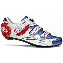 Buty rowerowe szosowe SIDI Five CARBON LORICA white blue red