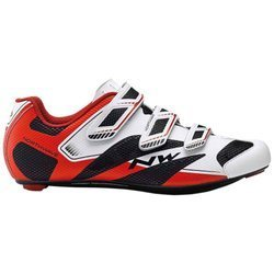Buty szosowe rowerowe NORTHWAVE Sonic 2 NRG CARBON white / black / red