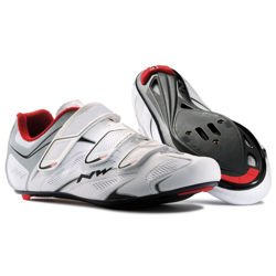 Buty szosowe rowerowe NORTHWAVE Sonic 3S CARBON white / silver