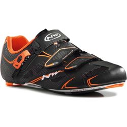 Buty szosowe rowerowe NORTHWAVE Sonic TECH SRS full CARBON black / orange