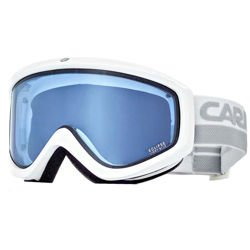 Gogle CARRERA Eclipse white shiny / szybka: light blue