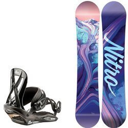 Juniorski zestaw NITRO: snowboard Spirit Youth 2020 + Mini Charger S 2021 |  THE FIRST STEP TO HAPPINESS : )