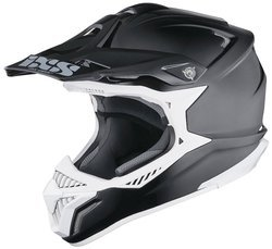 Kask na motor IXS HX179 Flash MOTOCROSS MX CROSS carbon / kevlar / fibreglass | matt black