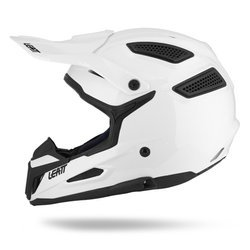 Kask na motor LEATT GPX 5.5 SOLID OFF-ROAD white