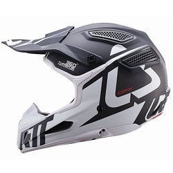 Kask na motor LEATT GPX 6.5 Carbon V16 OFF-ROAD carbon / white