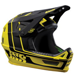 Kask rowerowy IXS Xult | ENDURO / DH | full face / FF | yellow / black