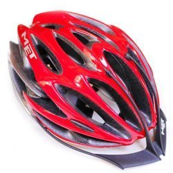Kask rowerowy MET 5th Element red / silver