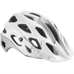 Kask rowerowy MET Lupo HES MTB AM EDNDURO 270g white / silver