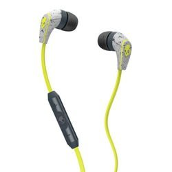 Słuchawki z mikrofonem SKULLCANDY 50/50 dark gray / light gray / hot lime S2FFGM-386
