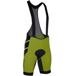Spodenki rowerowe ION Bibshorts Aeration olive