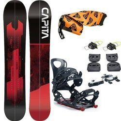 ZESTAW 2020: splitboard CAPITA Neo Slasher + wiązania VOILE Speed Rail + foki UNION Expedition Climbing Skins
