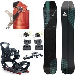 ZESTAW 2020: splitboard NITRO Doppleganger 2020 + wiązania VOILE Speed Rail + foki BLACK DIAMOND Ascension Splitboard