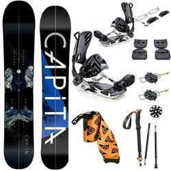 ZESTAW: splitboard CAPITA Neo Slasher 161cm + wiązania SP / Pathron GT Multientry VOILE + foki & kije UNION Expedition 2020
