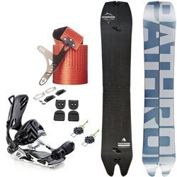 ZESTAW: splitboard PATHRON Carbon Powder 2020 + wiązania SP/PATHRON GT MultiEntry + klipsy & haki + interface VOILE + foki BLACK DIAMOND Ascension Splitboard