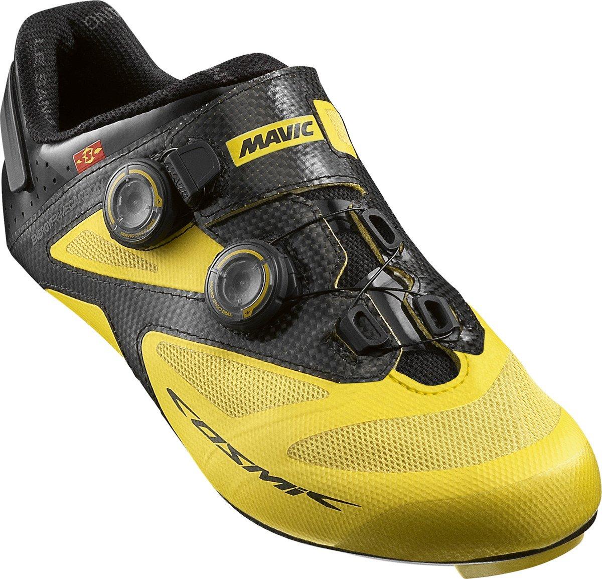 Buty rowerowe szosowe MAVIC Cosmic Ultimate II yellow black