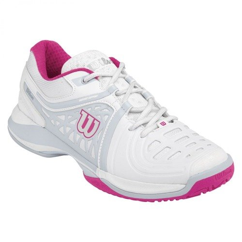 Damskie buty tenisowe WILSON Nvision Elite white/gray/pink