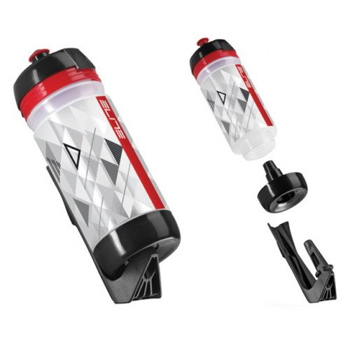 Bidon + koszyk  ELITE Kit Ponta 500ml