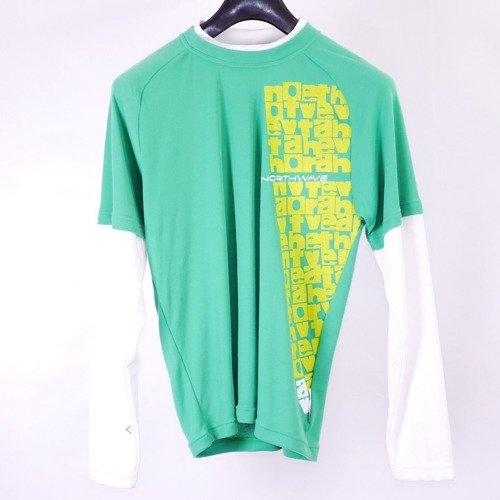 Bluza long sleeve NORTHWAVE Escapea Jersey green