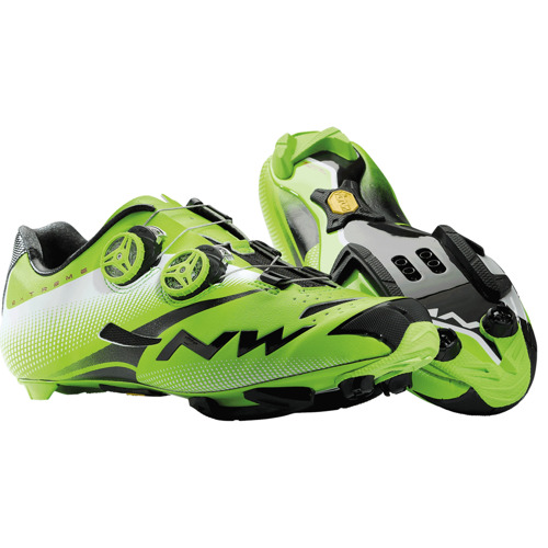 Buty rowerowe NORTHWAVE Extreme Tech MTB Plus green / black / white