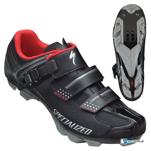 Buty rowerowe SPECIALIZED Comp MTB black / red