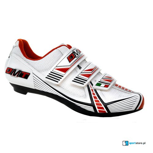 Buty rowerowe szosowe DMT Vision 2.0 CARBON white / red / black