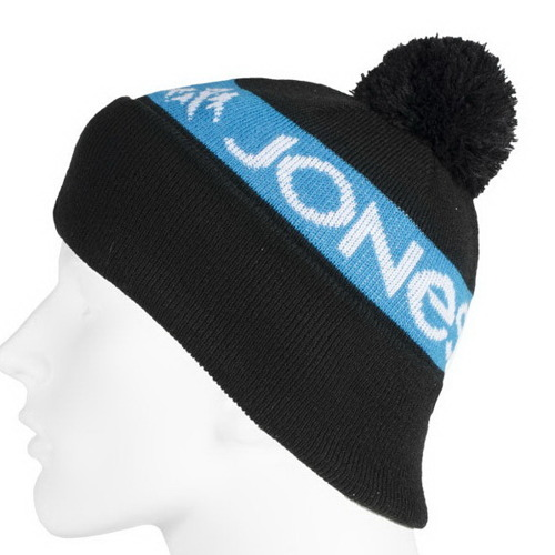 Czapka JONES SNOWBOARDADS Team Beanie black / blue