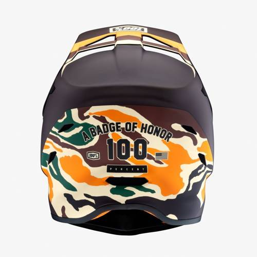Kask rowerowy 100% THE STATUS Bootcamp | DH / BMX | full face | camo