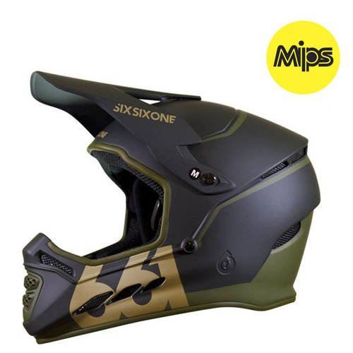 Kask rowerowy SIXSIXONE 661 Reset MIPS | DH ENDURO full face 1020g | deep forest green