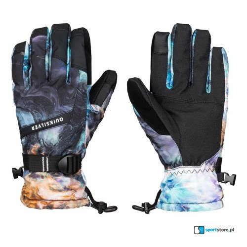 Rękawice QUIKSILVER Mission Gloves oil and space 2017