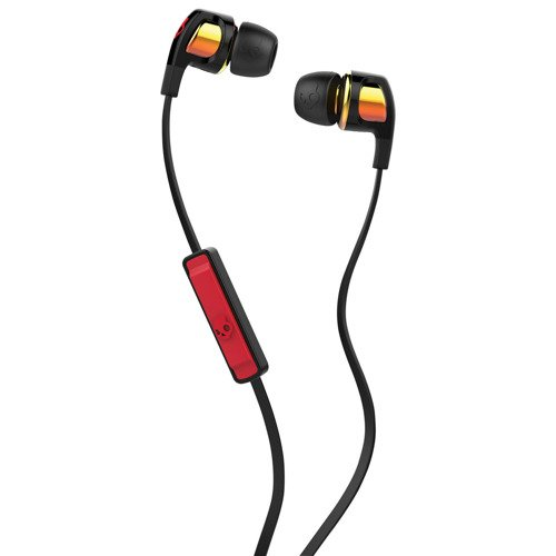 Słuchawki z mikrofonem SKULLCANDY Smokin Buds 2 S2PGGY-392 spaced out orange iridium afterburner