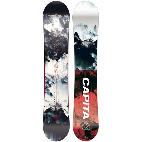 Zestaw snowboardowy: CAPITA Outerspace Living 158cm + UNION Force yellow 2018