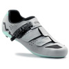 Damskie buty rowerowe szosowe NORTHWAVE Verve SRS CARBON reflective silver / green